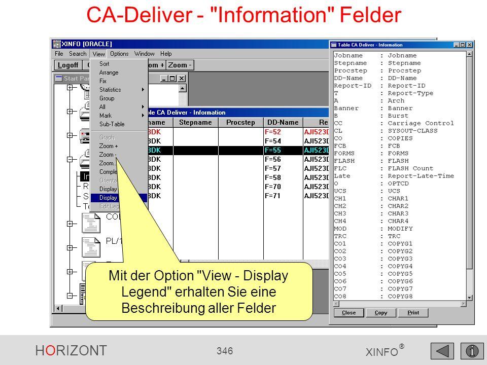 HORIZONT 346 XINFO ® CA-Deliver -