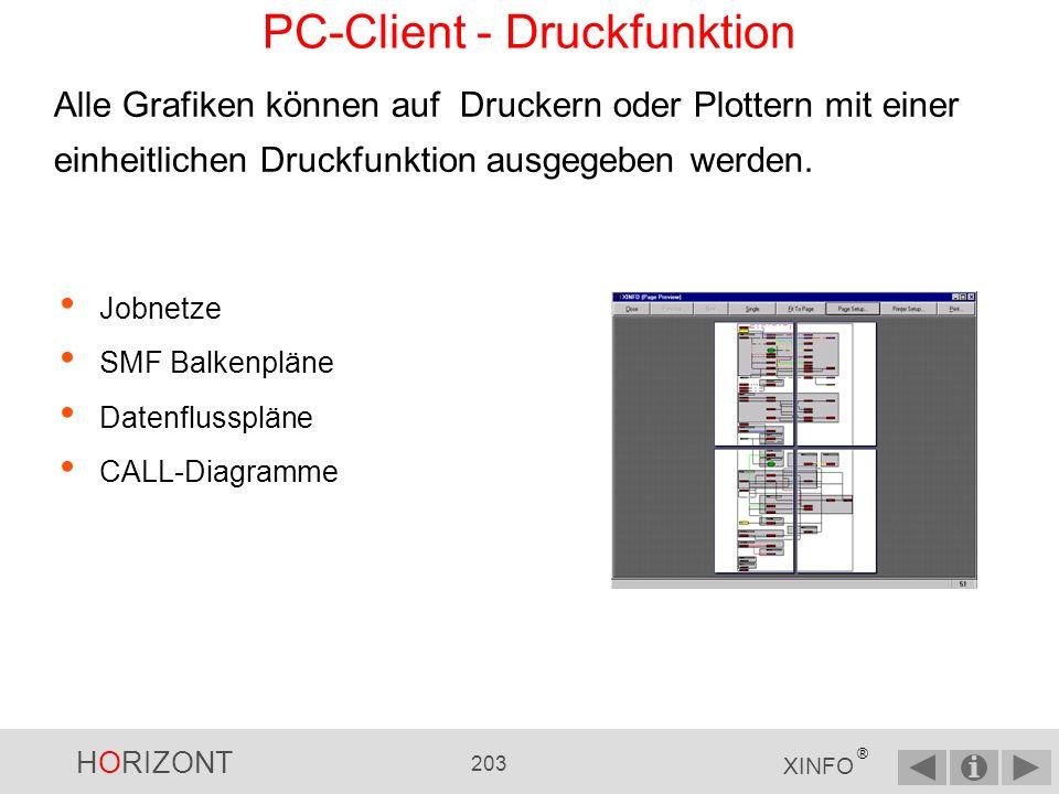 HORIZONT 202 XINFO ® Die angeforderte Programm-Source PC-Client - Source Explorer