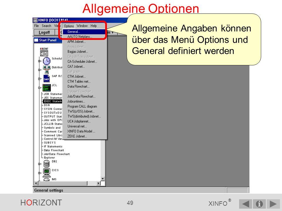 HORIZONT 48 XINFO ® PC-Client - Alle Markierungen entfernen...und mit REMOVE kann man alle Markierungen entfernen Hinweis: Diese Funktion gibt es nur im PC-Client