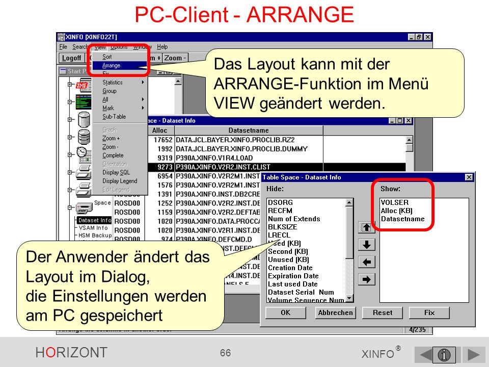 HORIZONT 65 XINFO ® PC-Client - ALL (4)...