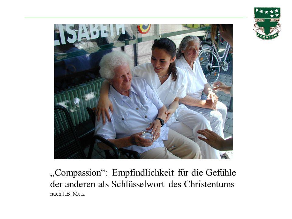 Compassion: Empfindlichkeit für die Gefühle der anderen als Schlüsselwort des Christentums nach J.B. Metz
