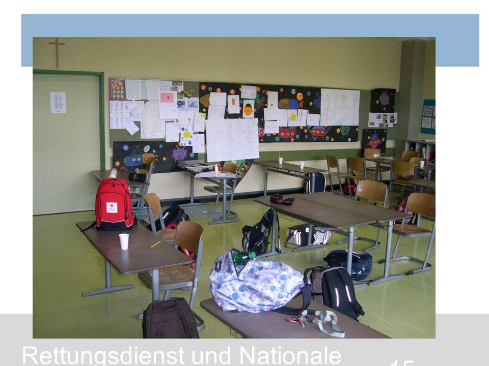 15 Rettungsdienst und Nationale Katastrophenhilfe / Bundesrettungskommando
