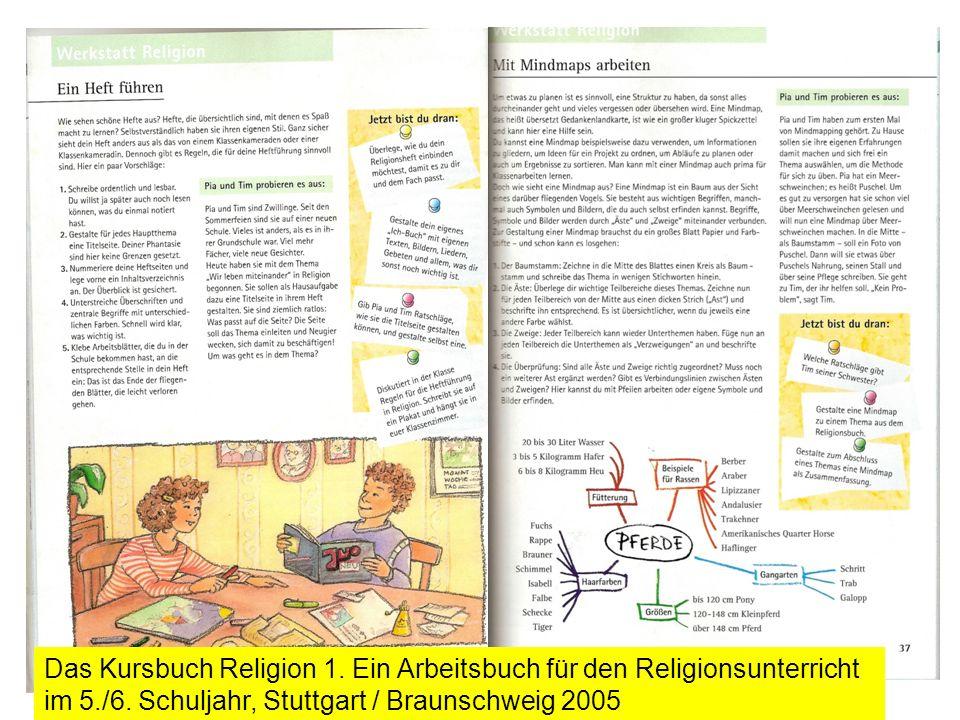 Das Kursbuch Religion 1. Ein Arbeitsbuch für den Religionsunterricht im 5./6. Schuljahr, Stuttgart / Braunschweig 2005