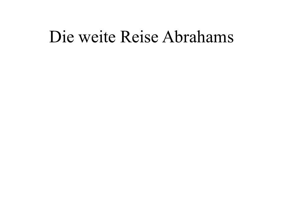 Abraham - ein Vorbild des Glaubens Die Grundlage des Glaubens Die persönliche Beziehung zu Gott ist die Grundlage des Glaubens.