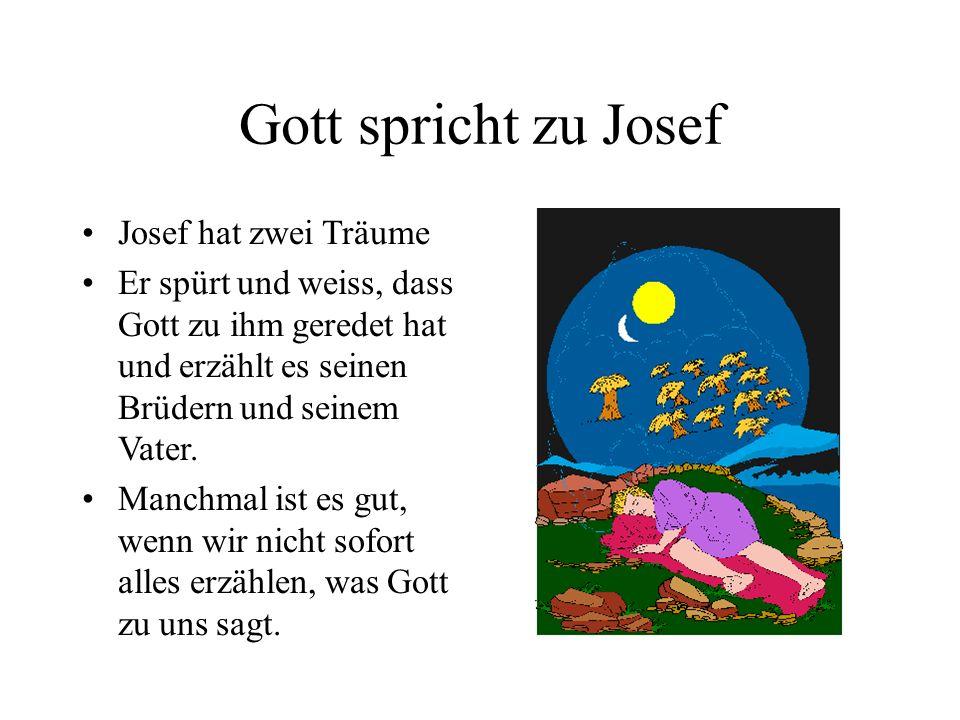Die Brüder von Josef sind eifersüchtig und wütend auf Josef Weil Jakob seinen Lieblingssohn Josef immer bevorzugt, sind die Brüder neidisch auf Josef.