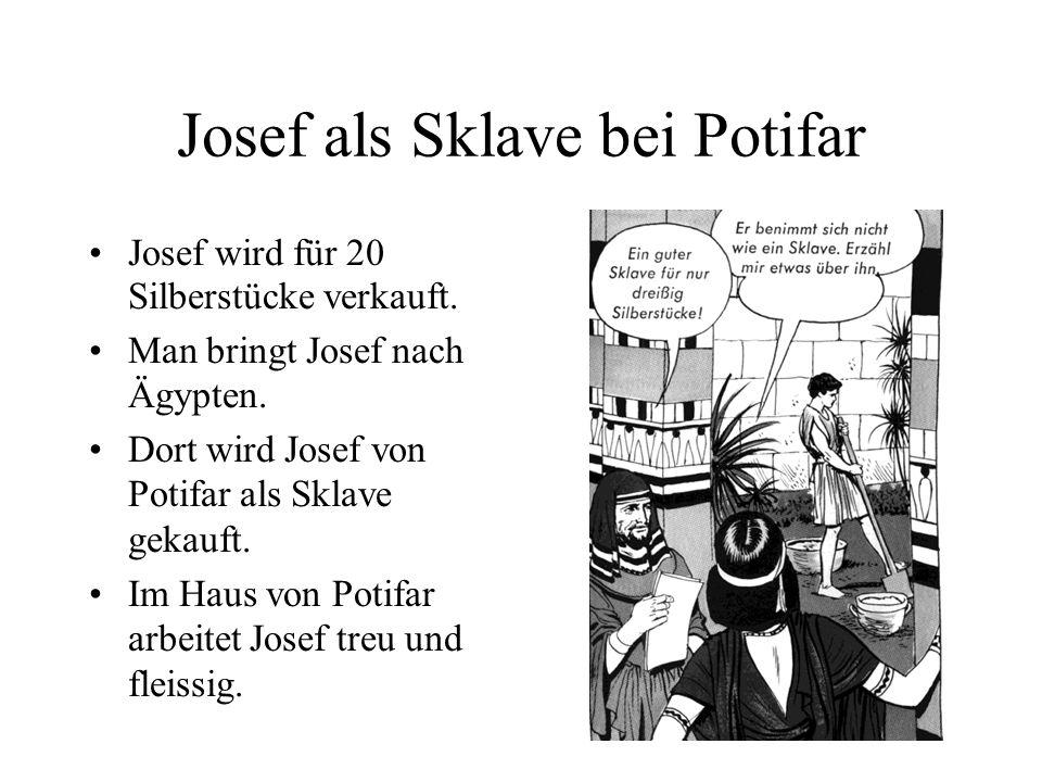 Josef hat viele gute Eigenschaften Eine sehr wichtige Eigenschaft in seinem Leben ist TREUE!