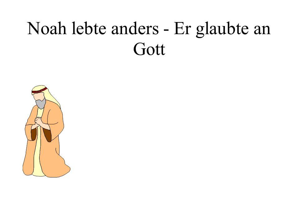 Noah baut die Arche