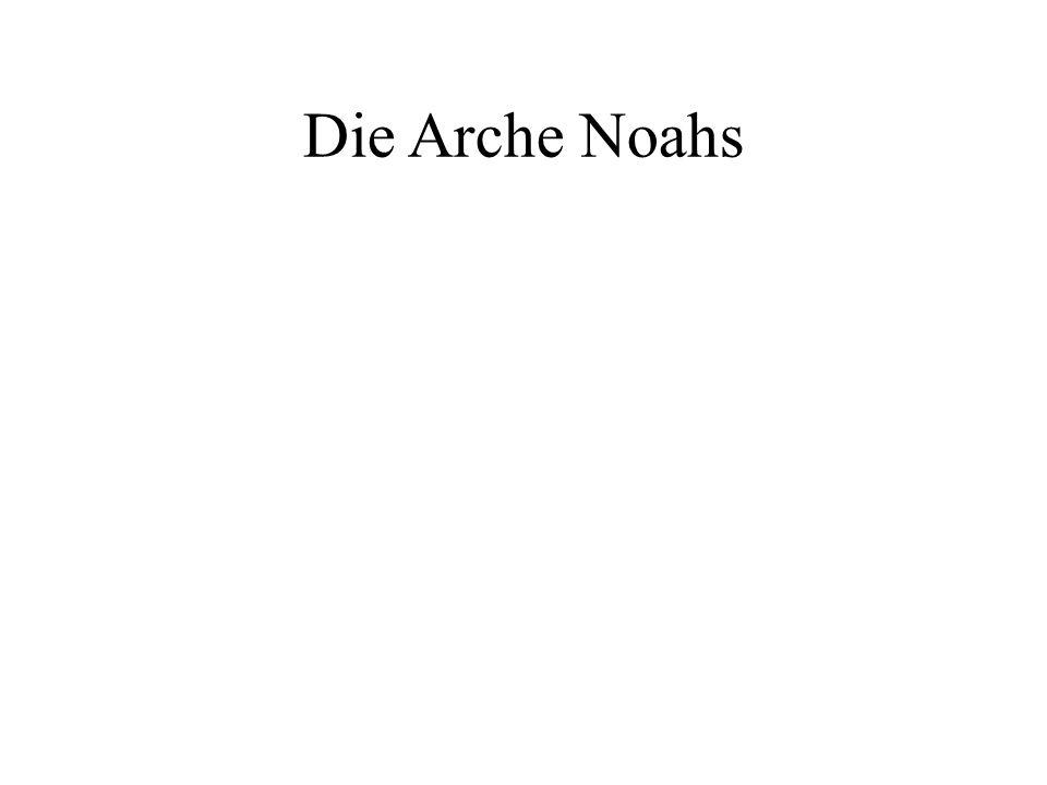 Gott rettet Noah - Noah dankt Gott