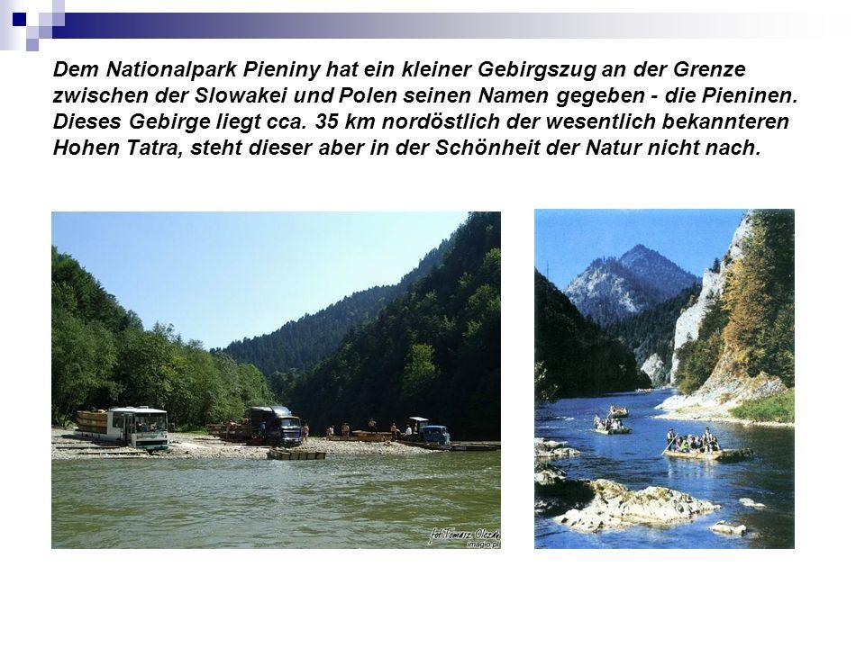 Dem Nationalpark Pieniny hat ein kleiner Gebirgszug an der Grenze zwischen der Slowakei und Polen seinen Namen gegeben - die Pieninen. Dieses Gebirge