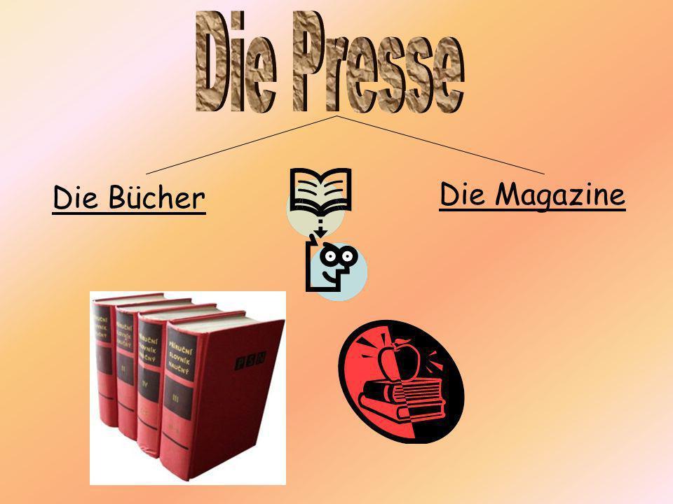 Die Magazine Die Bücher