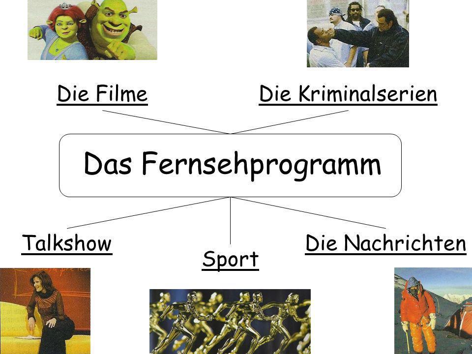Das Fernsehprogramm Die Kriminalserien Talkshow Die Filme Sport Die Nachrichten