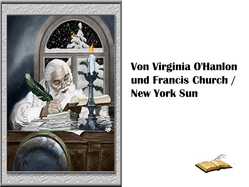 Der Briefwechsel zwischen Virginia O Hanlon und Francis P.
