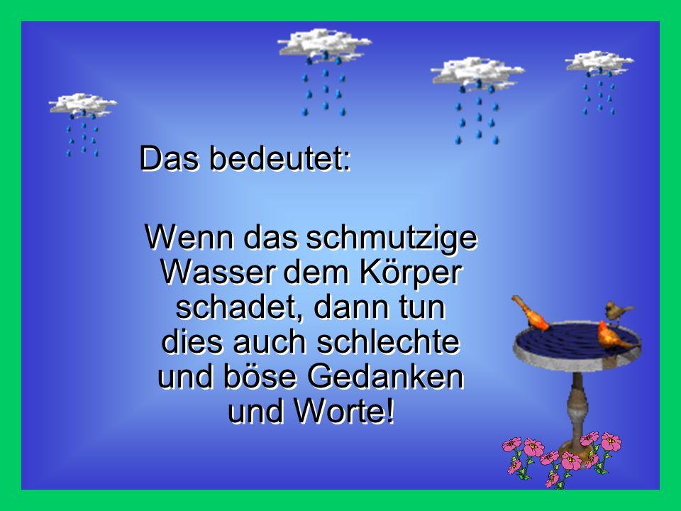 Wenn ein einfaches vielen Dank! ein Wassermolekül verändern kann, dann stell Dir vor, was ein Gebet, Worte der Liebe, Brüderlichkeit, Tapferkeit und F