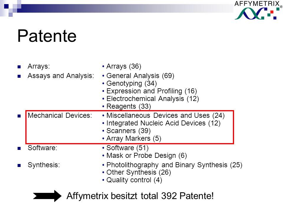GeneChip ® Scanner 3000 7G GeneChip ® Fluidics Station 450 GeneChip ® Hybridization Oven 640 Beispiele: Geräte