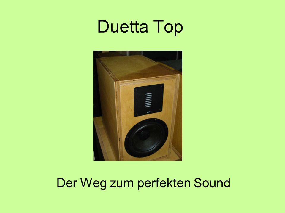 Duetta Top Der Weg zum perfekten Sound