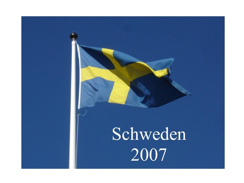 Im Juli 2007 verbrachten wir einen Wanderurlaub in Mittel- bis Nordschweden.