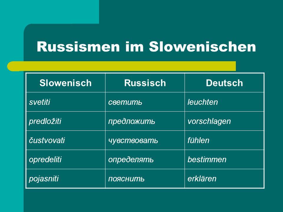 Russismen im Deutschen Taiga, Tundra vom russ.