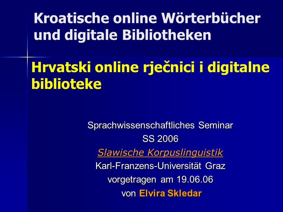 12 Multilinguale Wörterbücher Višejezični rječnici http://www.dicts.info/