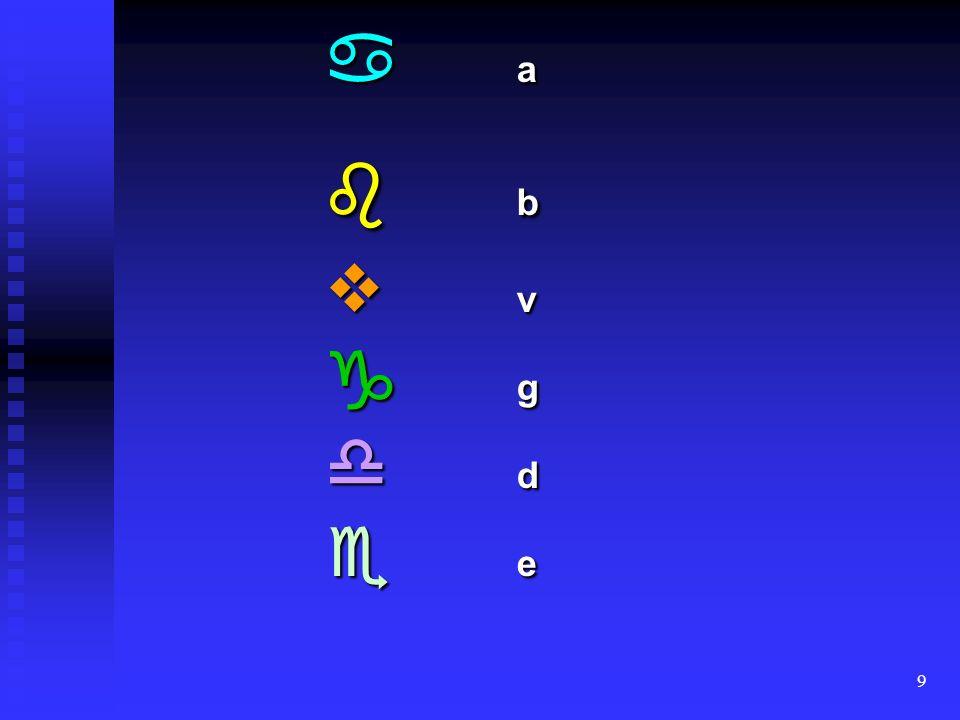 9 a b v g d e