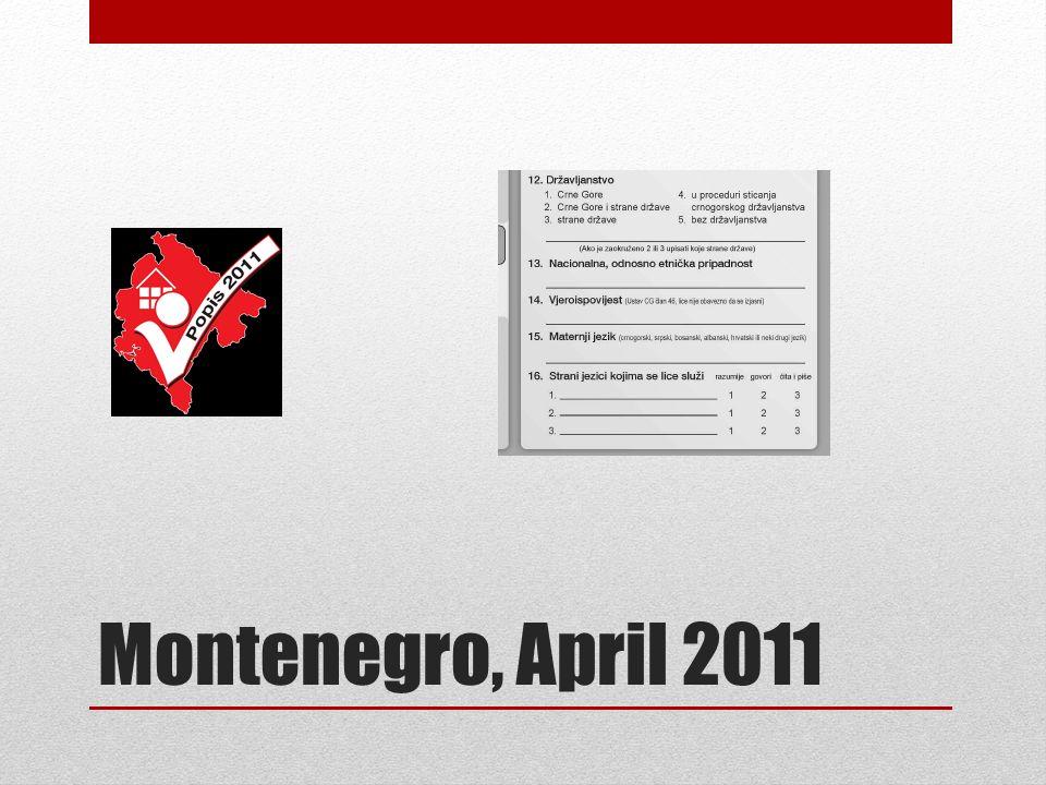 Montenegro, April 2011