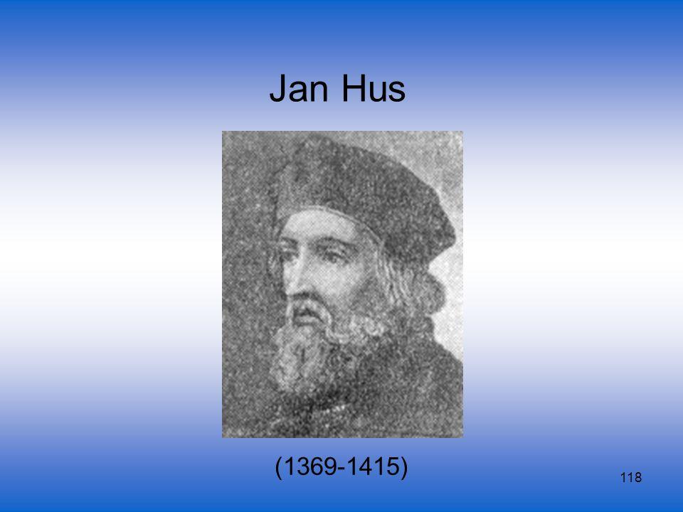 118 Jan Hus (1369-1415)