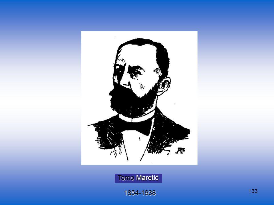 133 Tomo Maretić 1854-1938