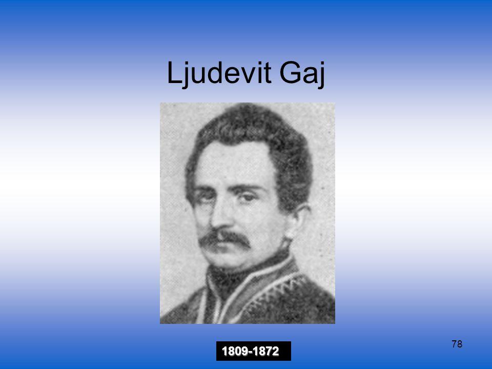 78 Ljudevit Gaj 1809-1872