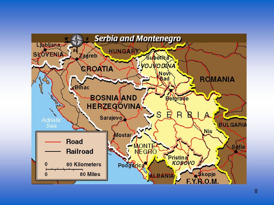 9 Bevölkerung 62,3% Serben (Srbi) 16,6%Albaner (Albanci) 5% Montenegriner (Crnogorci) 3,3% Ungarn (Mađari) 3,3% Jugoslawen (Jugosloveni) 3% Bosniaken/Muslime (Bošnjaci/Muslimani)