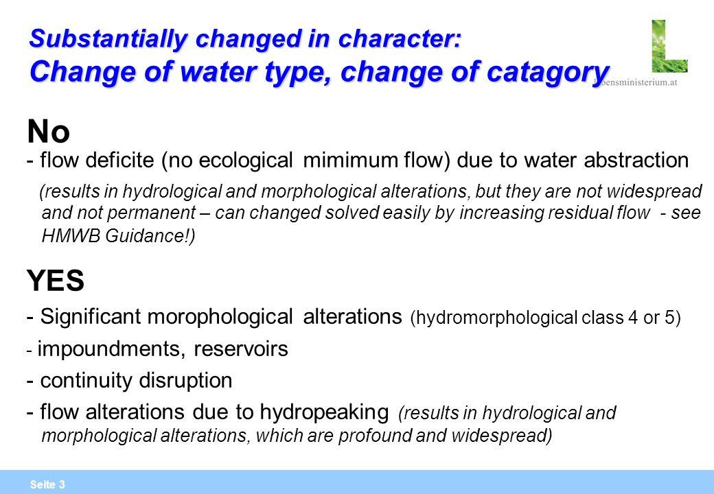 Seite 24 Restwasserstrecken im Zusammenhang mit Spitzenstromerzeugung Bei- bzw.