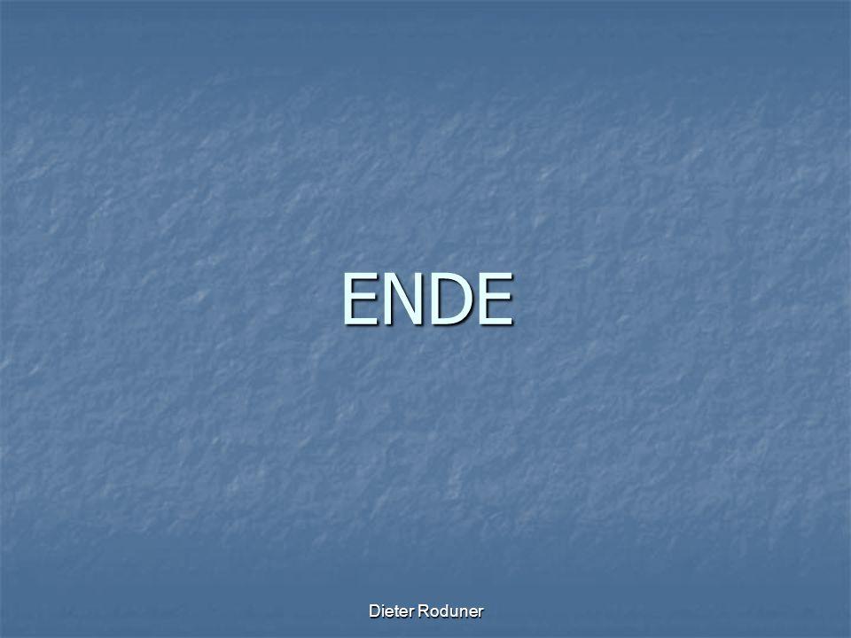 Dieter Roduner ENDE