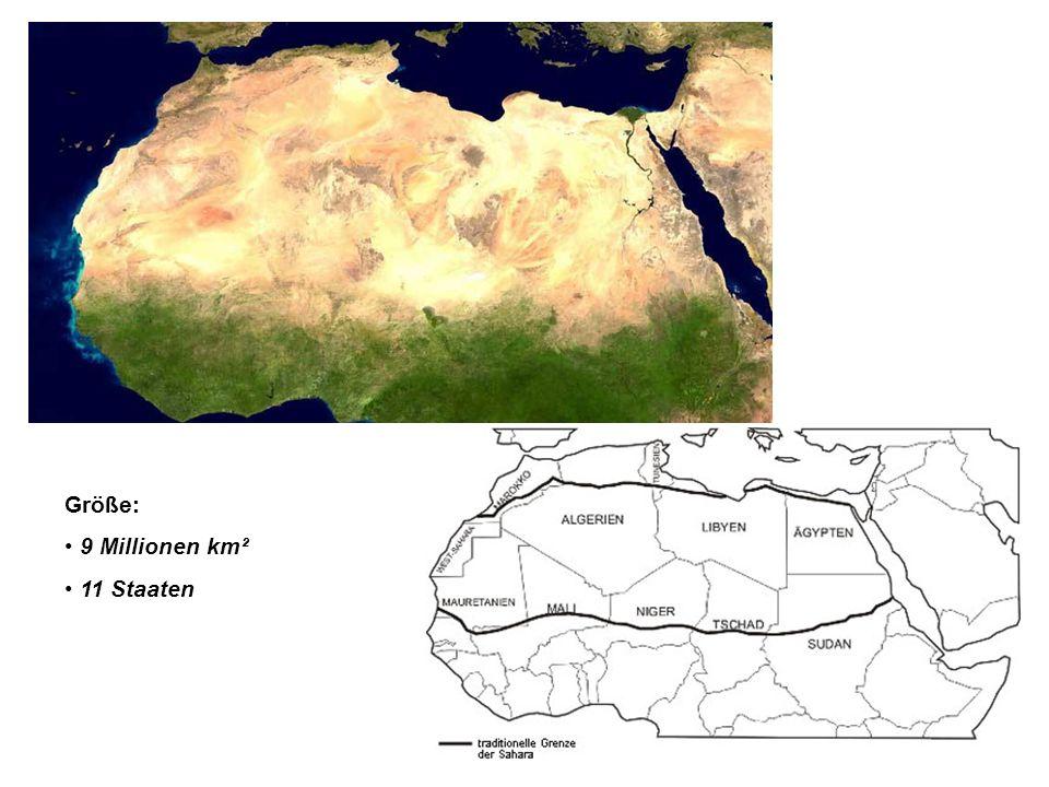 Landschaft Bestehend aus: Steinwüste, Felswüste, Geröllwüste und zu einem geringen Teil aus Sandwüste.