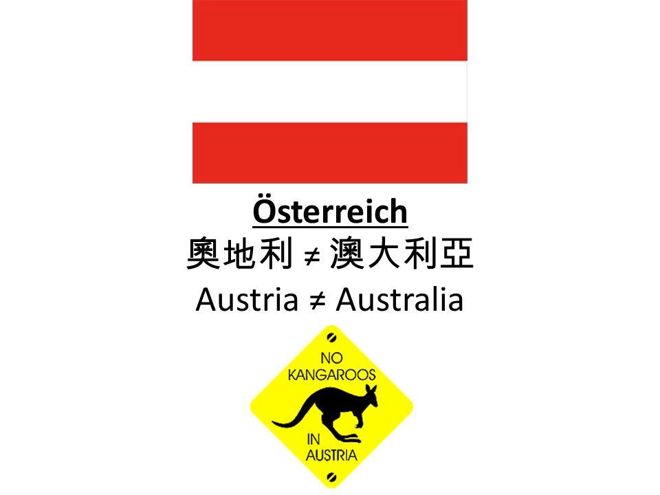 Österreich Austria Australia