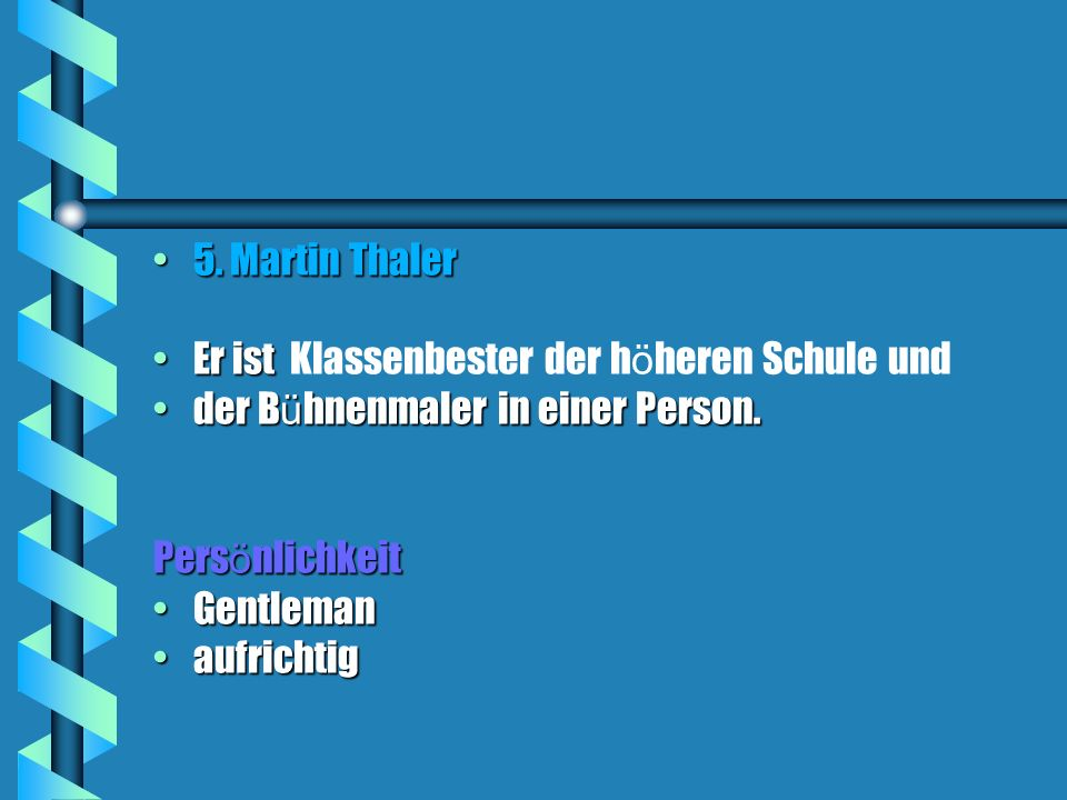 5.Martin Thaler5.
