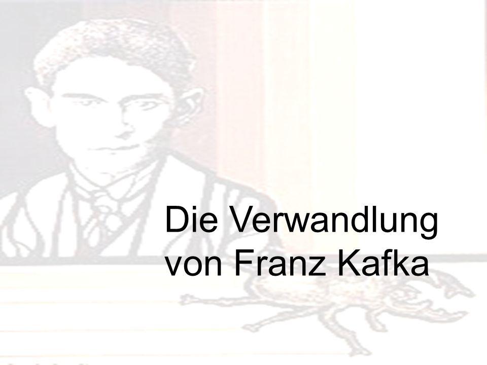 Gliederung.Literatur der Existenz. Die Biographie von Franz Kafka.