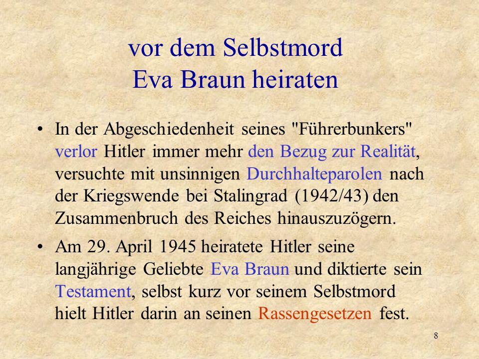 7 Die von Hitler persönlich befohlene Ausbeutung und brutale Unterdrückung der besetzten Gebiete sowie die
