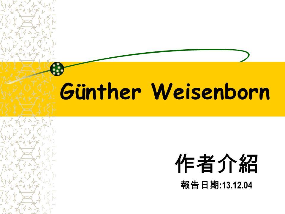 Günther Weisenborn :13.12.04