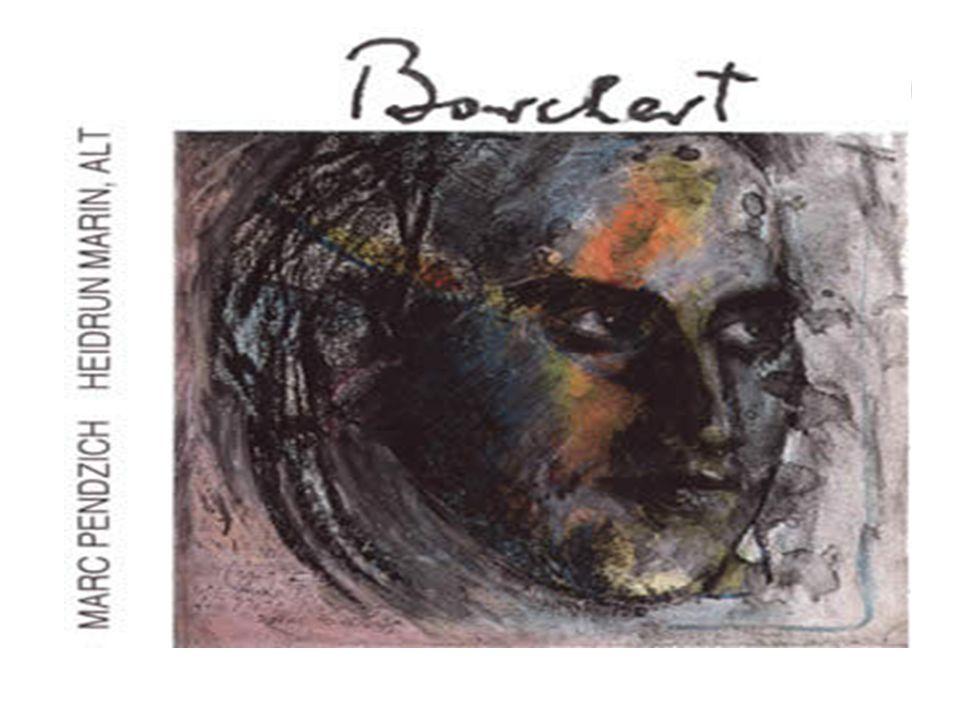 20.5.1921 Wolfgang Borchert wird in Hamburg geboren.