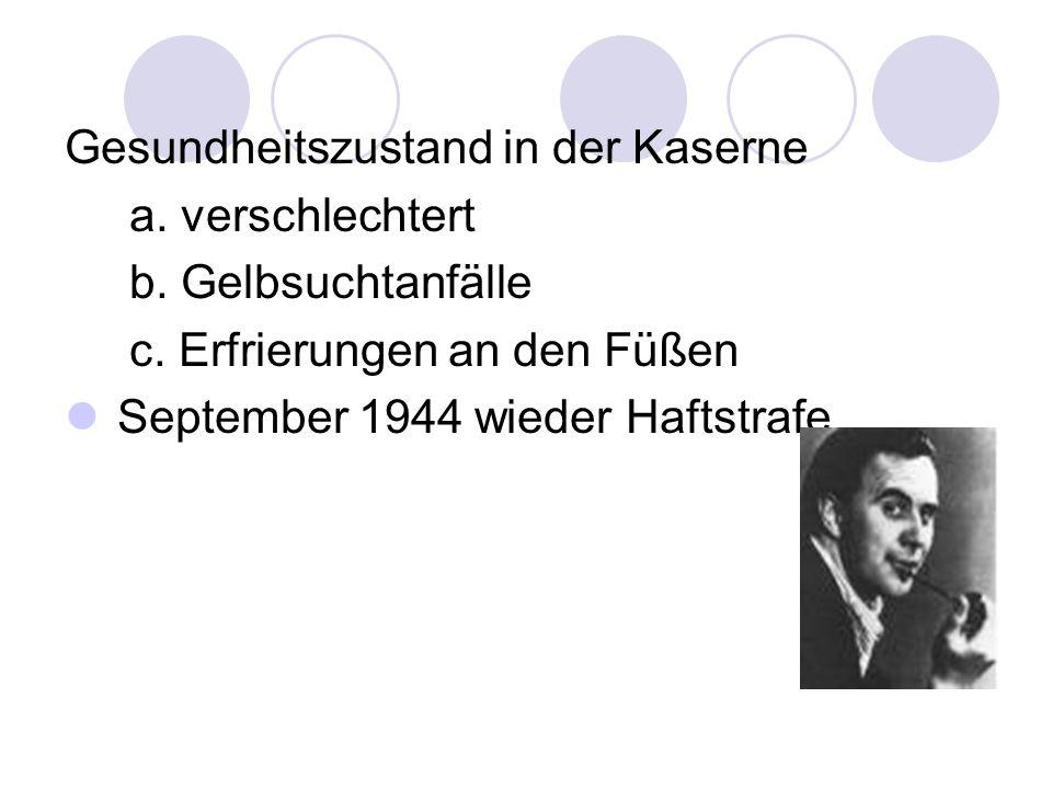 1945 Rückkehr nach Hamburg, Theater und Kabarett, Krankheit.