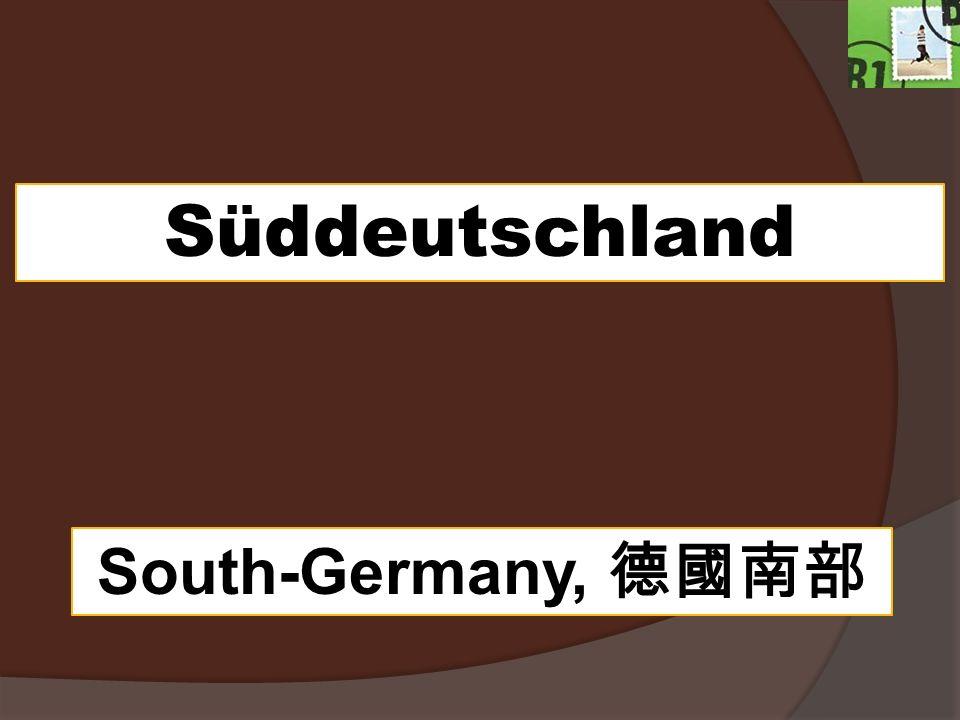 Süddeutschland South-Germany,