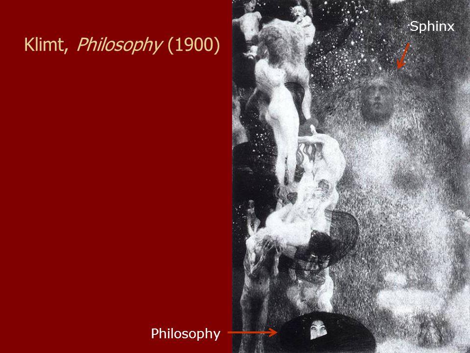 Klimt, Philosophy (1900) Philosophy Sphinx