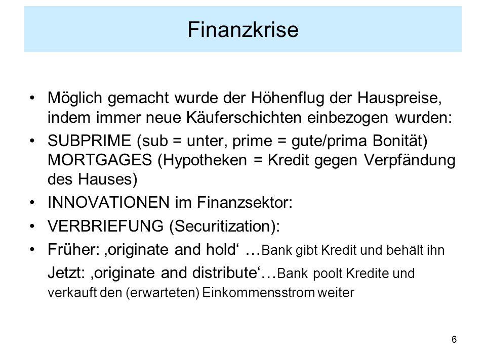 7 Finanzkrise