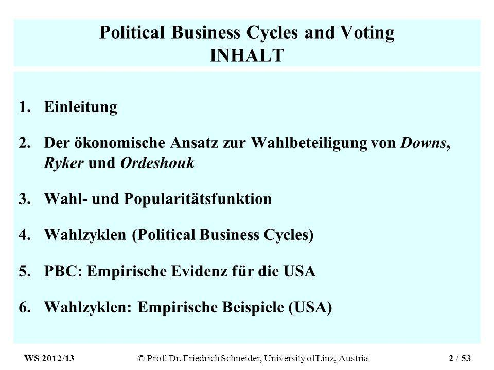 Quelle Political business cycles, Martin Paldam, in Perspectives On Public Choice, Dennis Mueller (ed.), 1997, pp.342-379.