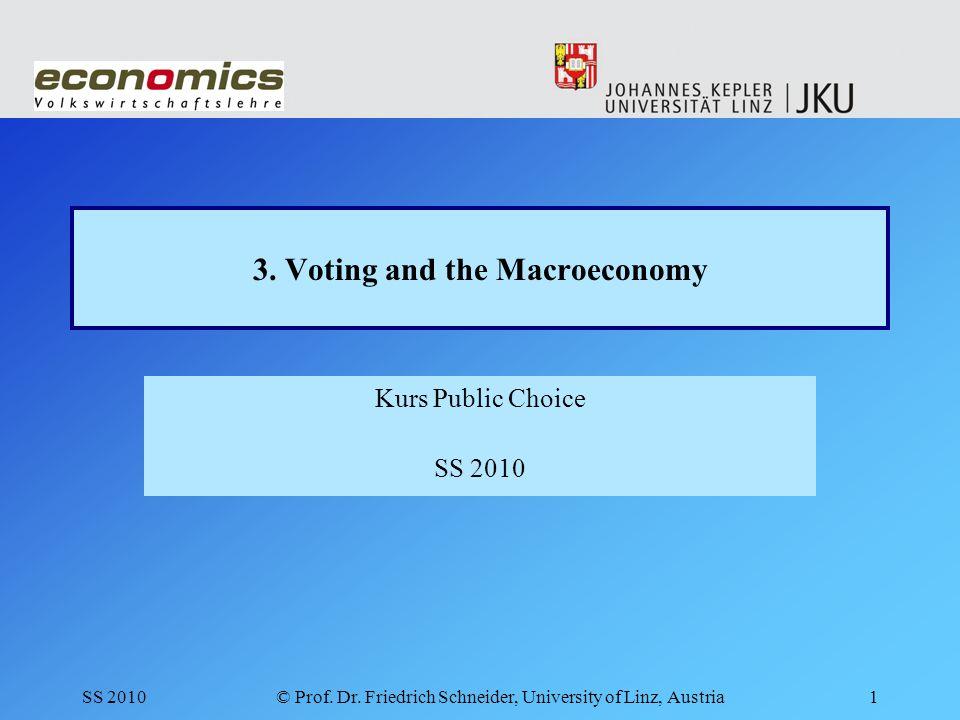 © Prof.Dr. Friedrich Schneider, University of Linz, Austria2 3.