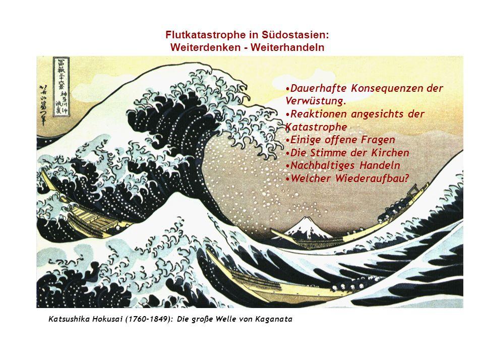 Flutkatastrophe in Südostasien: Weiterdenken - Weiterhandeln Dauerhafte Konsequenzen der Verwüstung.