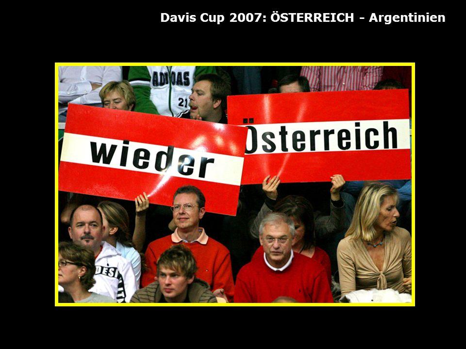 Davis Cup 2007: ÖSTERREICH - Argentinien