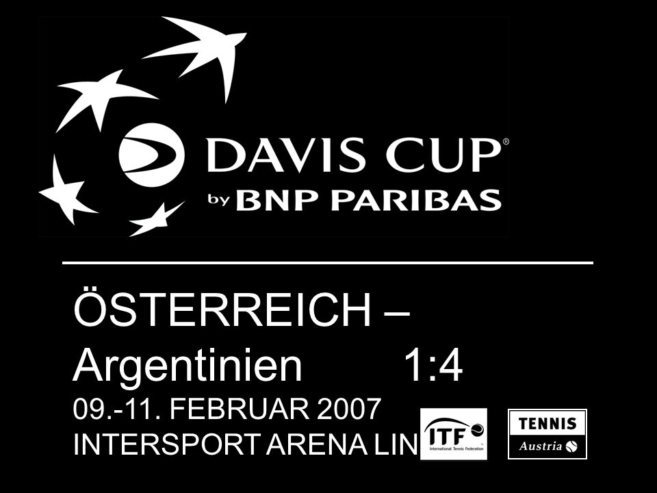 Davis Cup 2007: ÖSTERREICH - Brasilien
