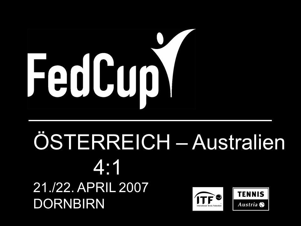 ÖSTERREICH – Australien 4:1 21./22. APRIL 2007 DORNBIRN