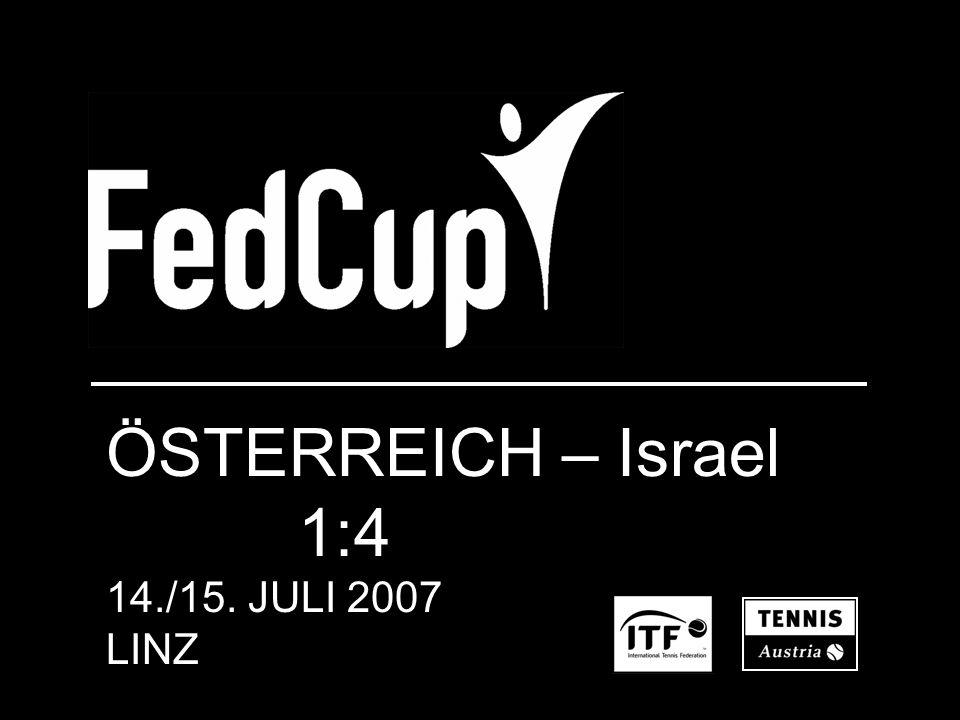 ÖSTERREICH – Israel 1:4 14./15. JULI 2007 LINZ