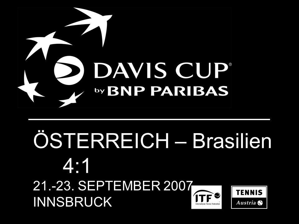 ÖSTERREICH – Brasilien 4:1 21.-23. SEPTEMBER 2007 INNSBRUCK
