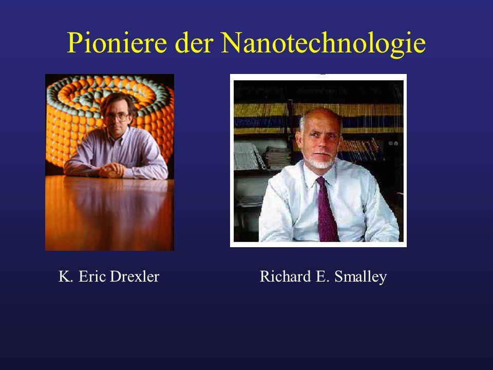 Pioniere der Nanotechnologie Richard E. SmalleyK. Eric Drexler